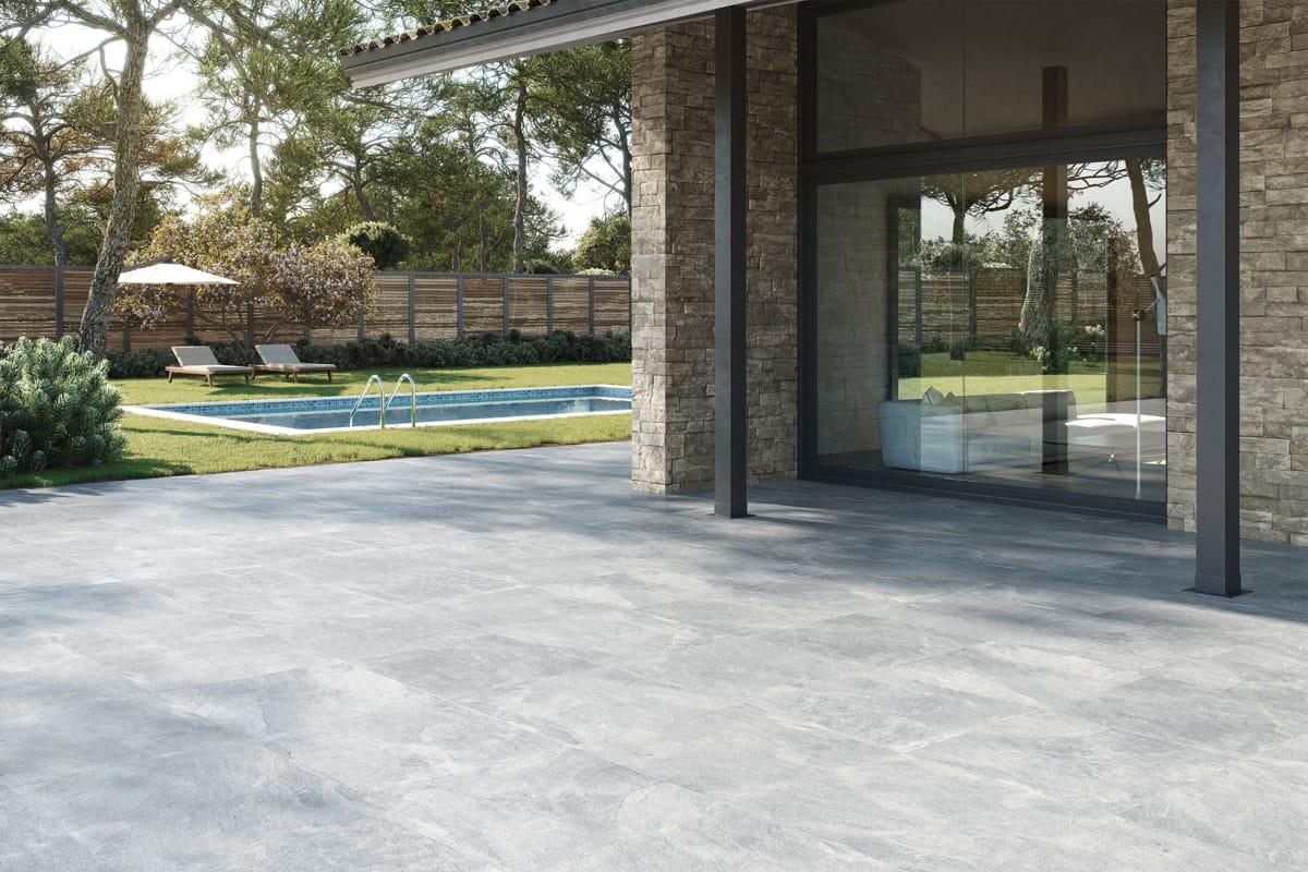 AMBIENTE Sandstone Grey 75x75 1